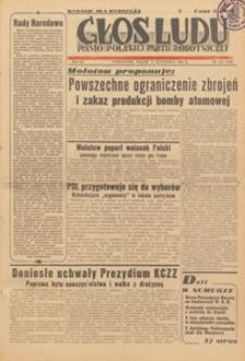 Głos Ludu : pismo codzienne Polskiej Partii Robotniczej, 1946.11.07 nr 305