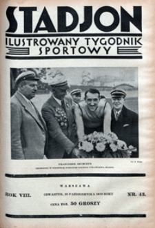 Stadjon, 1930, nr 43