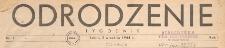 Odrodzenie : tygodnik, 1944.10.22 nr 6-7
