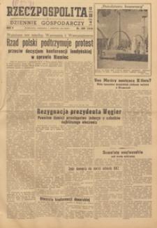 Rzeczpospolita i Dziennik Gospodarczy, 1948.08.24 nr 232