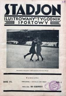 Stadjon, 1931, nr 1