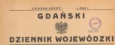 Gdański Dziennik Wojewódzki, 1945.07.02 nr 2