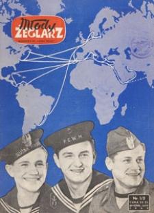 """Młody Żeglarz : miesięcznik P.O. """"Służba Polsce"""", 1949.01-02 nr 1/2"""