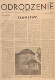 Odrodzenie : tygodnik, 1946.02.03 nr 5