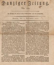 Danziger Zeitung, 1812.11.02 nr 175