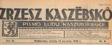 Zrzesz Kaszëbskô : pismo Ludu Kaszubskiego, 1946.01.12 nr 6