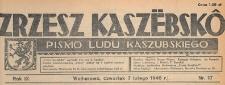 Zrzesz Kaszëbskô : pismo Ludu Kaszubskiego, 1946.02.07 nr 17