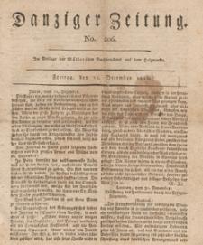 Danziger Zeitung, 1812.12.25 nr 206