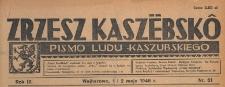 Zrzesz Kaszëbskô : pismo Ludu Kaszubskiego, 1946.05.01 i 02 nr 51