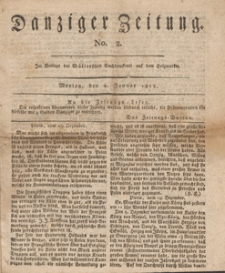 Danziger Zeitung, 1813.01.04 nr 2