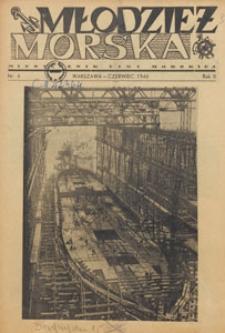Młodzież Morska : miesięcznik Ligi Morskiej, 1946.06 nr 6