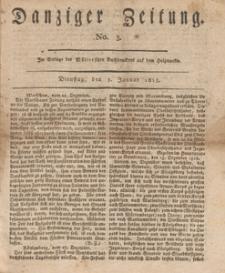 Danziger Zeitung, 1813.01.05 nr 3