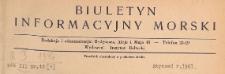 Biuletyn Informacyjny Morski, 1947.01 nr 1
