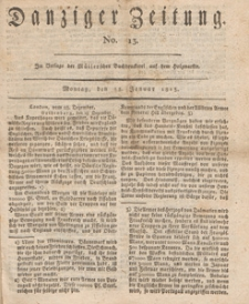 Danziger Zeitung, 1813.01.25 nr 13