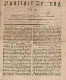 Danziger Zeitung, 1813.01.28 nr 15