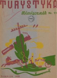 Turystyka, 1935.08 nr 11