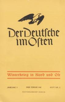 Der Deutsche im Osten : Monatsschrift für Kultur, Politik und Unterhaltung, 1942 H. 2