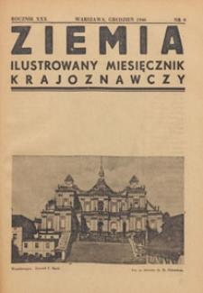 Ziemia : ilustrowany miesięcznik krajoznawczy, 1946.12 nr 9