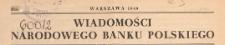 Wiadomości Narodowego Banku Polskiego, 1949 nr 10