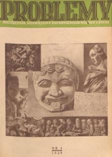 Problemy : miesięcznik poświęcony zagadnieniom wiedzy i życia, 1949 nr 5
