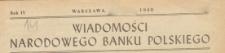 Wiadomości Narodowego Banku Polskiego, 1948.11 nr 11