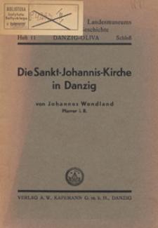 Die Sankt-Johannis-Kirche in Danzig