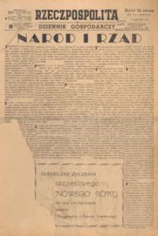 Rzeczpospolita i Dziennik Gospodarczy, 1948.01.26 nr 25