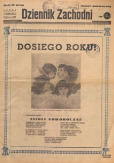 Dziennik Zachodni, 1947.01.12 nr 11