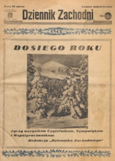 Dziennik Zachodni, 1948.01.18 nr 18