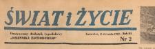 Świat i życie. Ilustrowany dodatek tygodniowy Dziennika Zachodniego, 1948.01.11 nr 2