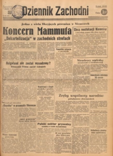 Dziennik Zachodni, 1947.12.18 nr 345