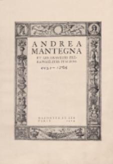 Andrea Mantegna et les graveurs préraphaélites italiens