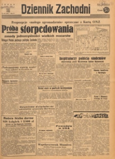 Dziennik Zachodni, 1948.12.28 nr 358