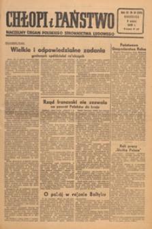 Chłopi i Państwo : tygodnik społeczno-polityczny, 1949.03.06 nr 10