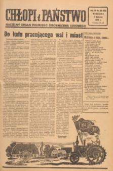 Chłopi i Państwo : tygodnik społeczno-polityczny, 1949.06.05 nr 23