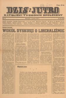 Dziś i Jutro : katolicki tygodnik społeczny, 1947.12.14 nr 50