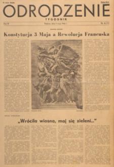 Odrodzenie : tygodnik, 1946.05.05 nr 18