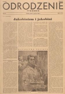 Odrodzenie : tygodnik, 1946.06.02 nr 22