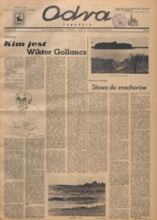 Odra : tygodnik literacko-społeczny, 1947.09.07 nr 36