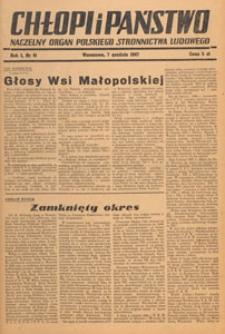 Chłopi i Państwo : tygodnik społeczno-polityczny, 1947.12.14 nr 42