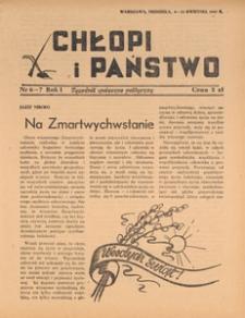 Chłopi i Państwo : tygodnik społeczno-polityczny, 1947.04.20 nr 8