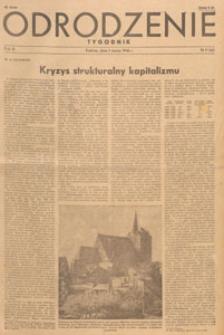 Odrodzenie : tygodnik, 1946.03.31 nr 13