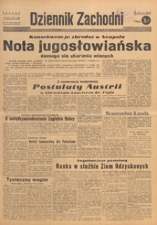 Dziennik Zachodni, 1947.02.08 nr 38