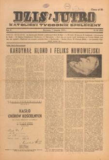 Dziś i Jutro : katolicki tygodnik społeczny, 1948.11.14 nr 46