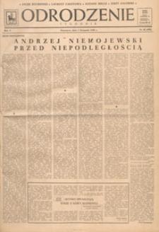 Odrodzenie : tygodnik, 1948.11.07 nr 45