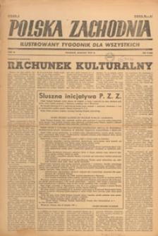 Polska Zachodnia : tygodnik : organ P.Z.Z., 1947.03 nr 9