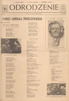 Odrodzenie : tygodnik, 1949.04.03 nr 14