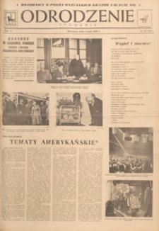 Odrodzenie : tygodnik, 1949.05.01 nr 18