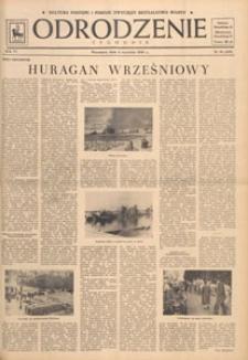 Odrodzenie : tygodnik, 1949.09.04 nr 36