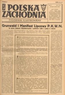 Polska Zachodnia : tygodnik : organ P.Z.Z., 1948.07.18 nr 28
